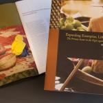 think tank organization meeting report brochure design