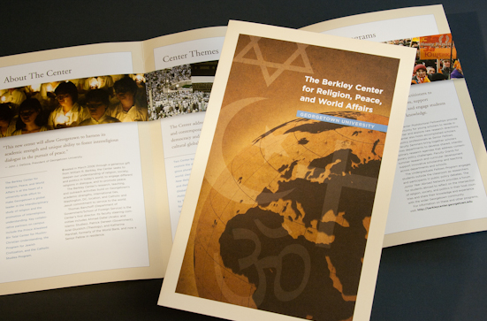 brochure design for university