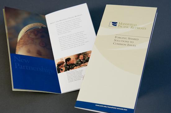 foundation brochure design